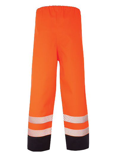 Picture of Hi Vis Multi-Protect Trouser - Hi Vis Orange/Navy