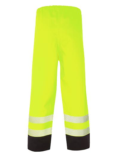 Picture of Hi Vis Multi-Protect Trouser - Hi Vis Yellow/Navy