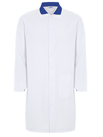 Picture of Food Trade Coat With Contrast Collar (245gsm)