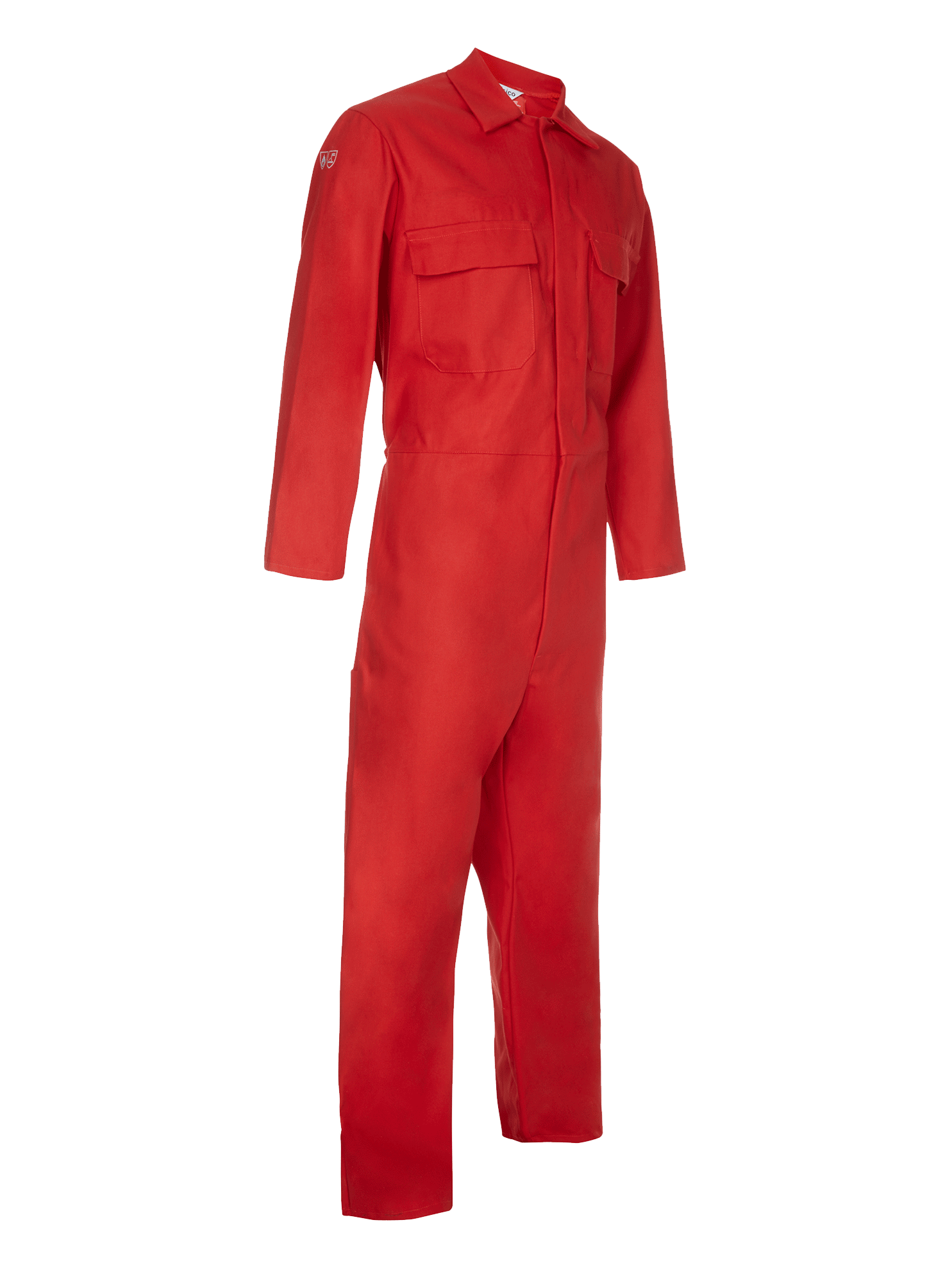 Picture of Coverall made with Zeus FR - Red