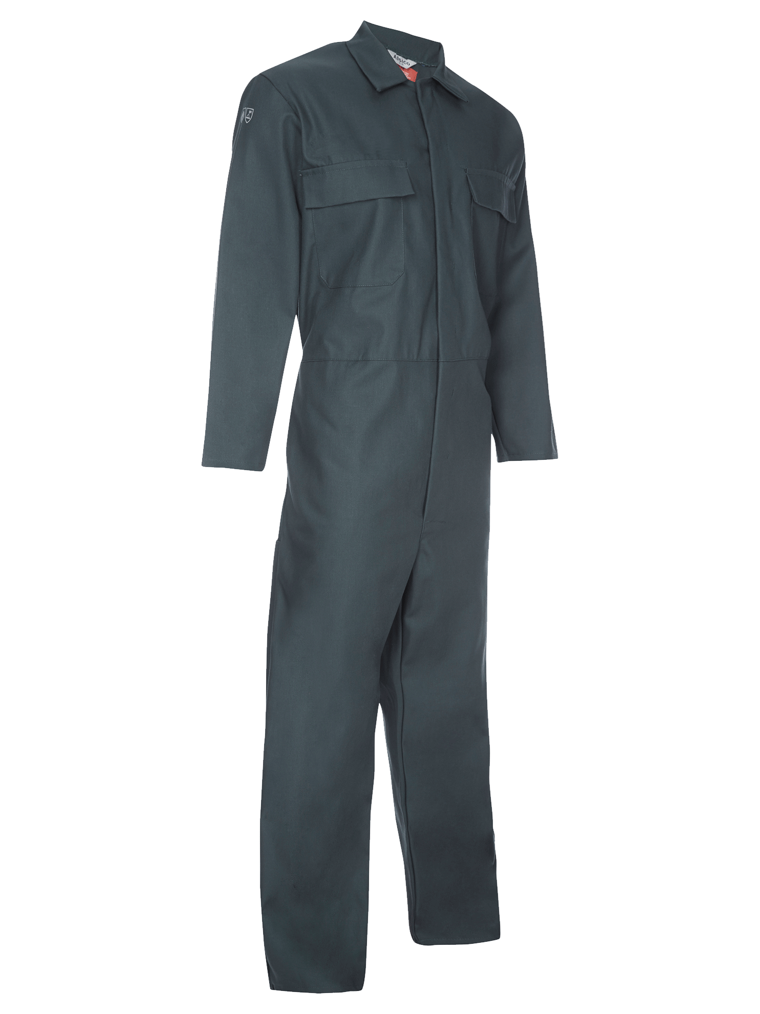 Picture of Coverall made with Zeus FR - Spruce Green