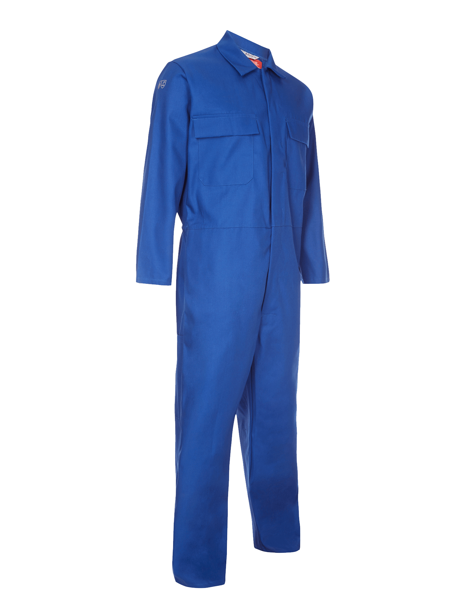 Picture of Coverall made with Zeus FR - Royal Blue