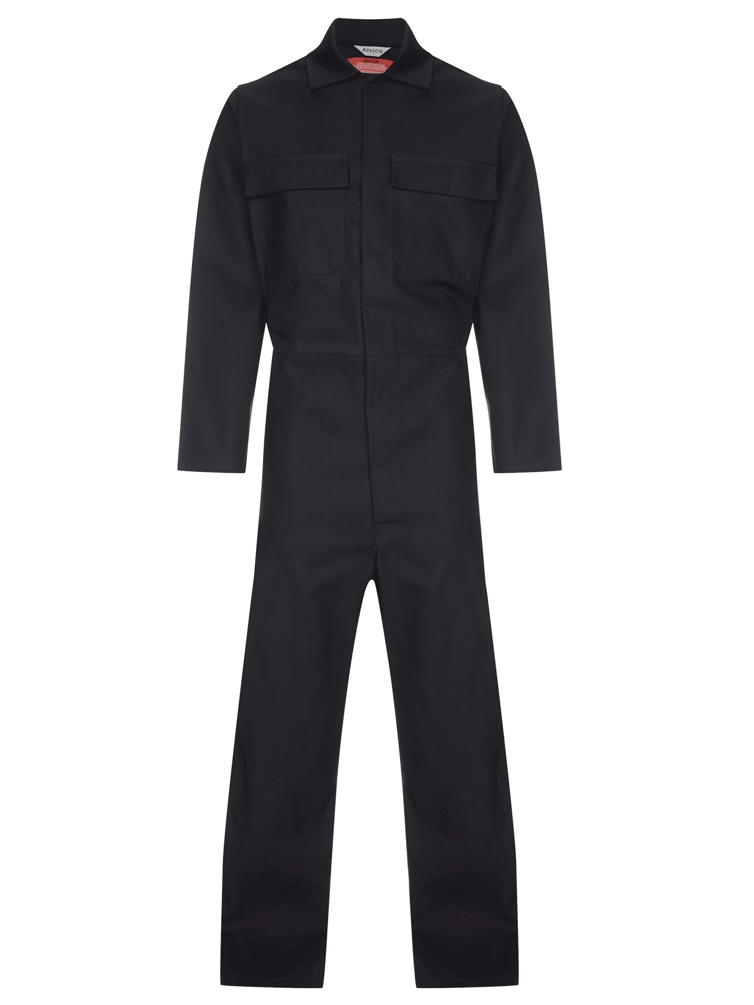 Picture of Coverall made with Zeus FR - Black