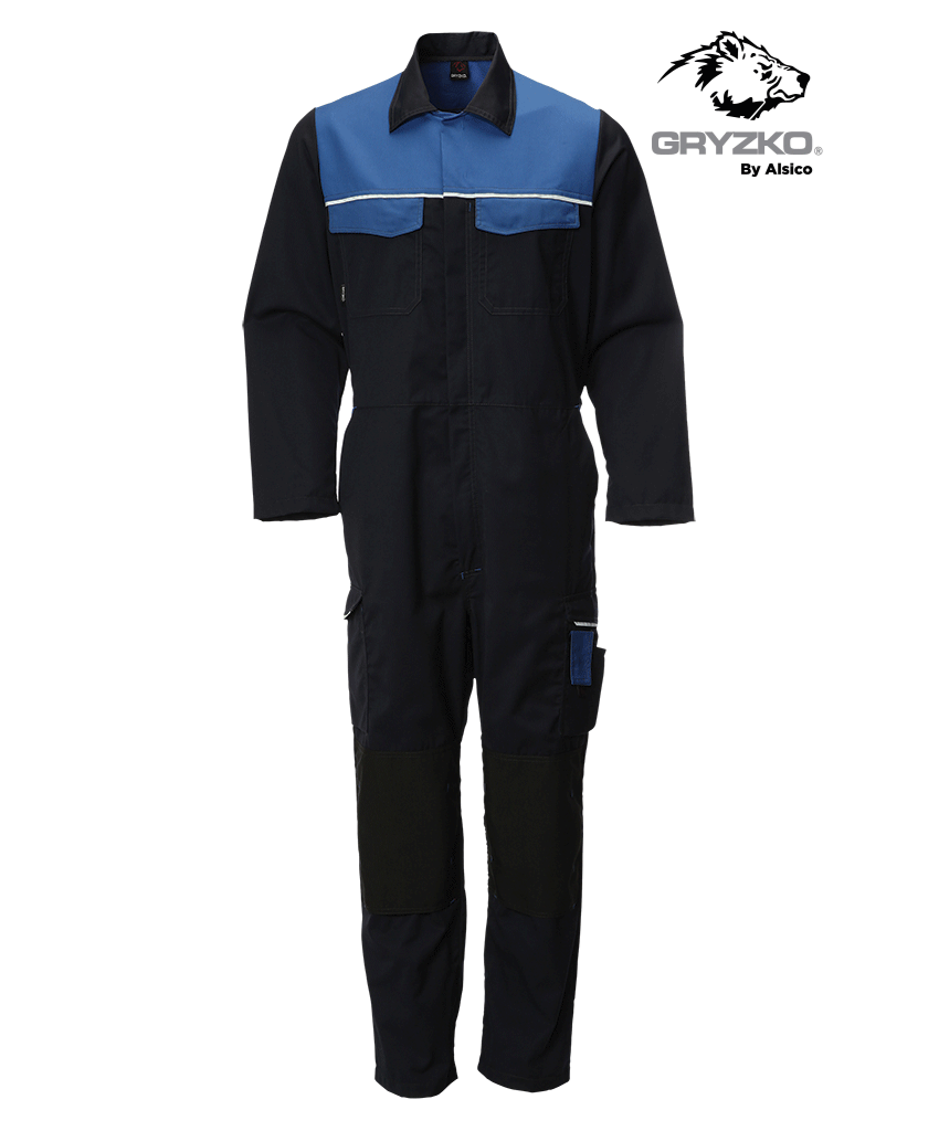 Picture of Gryzko® Classic Coverall - Blue Shadow / Royal