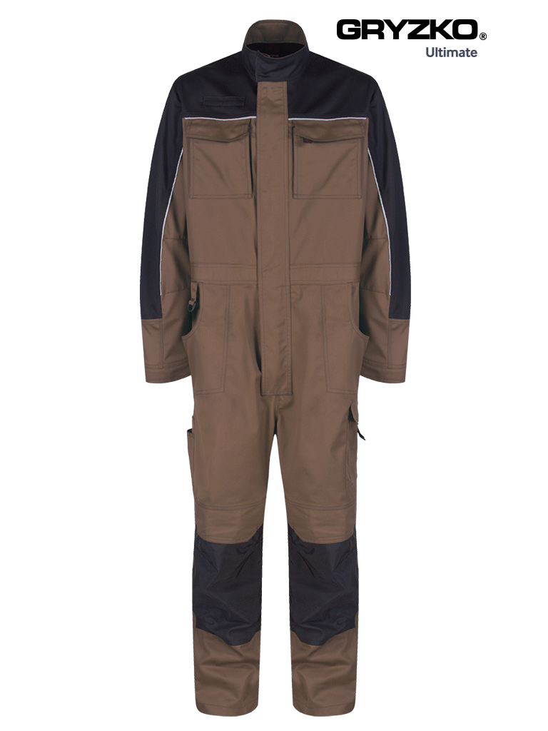 Picture of Ultimate Gryzko® Coverall - Oak Brown / Black