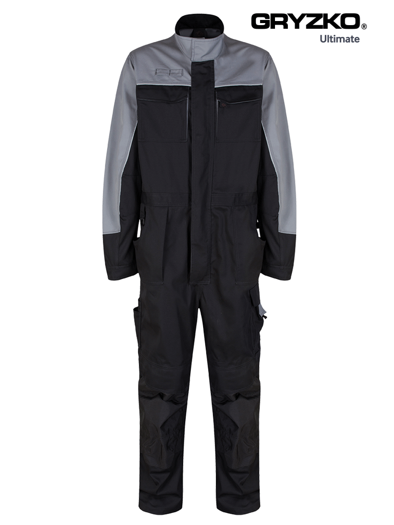 Picture of Ultimate Gryzko® Coverall  - Black / Graphite Grey