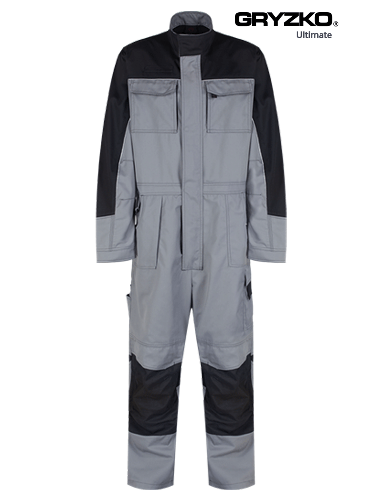 Picture of Ultimate Gryzko® Coverall - Grey/ Black