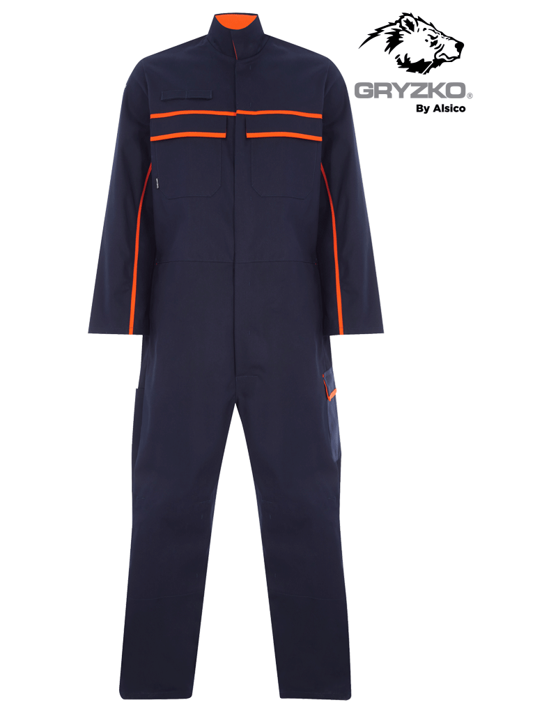 Picture of Gryzko® FR Coverall - Navy/Orange