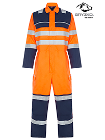 Picture of Gryzko® Hi-Vis Contrast Coverall