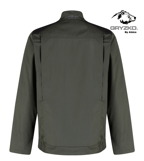 Picture of Gryzko® Bi Colour Jacket Charcoal with Black Contrast