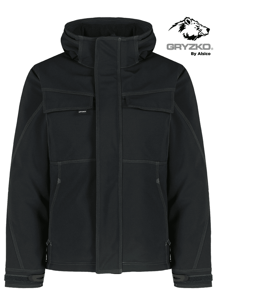 Picture of Gryzko® Quilted Softshell - Black