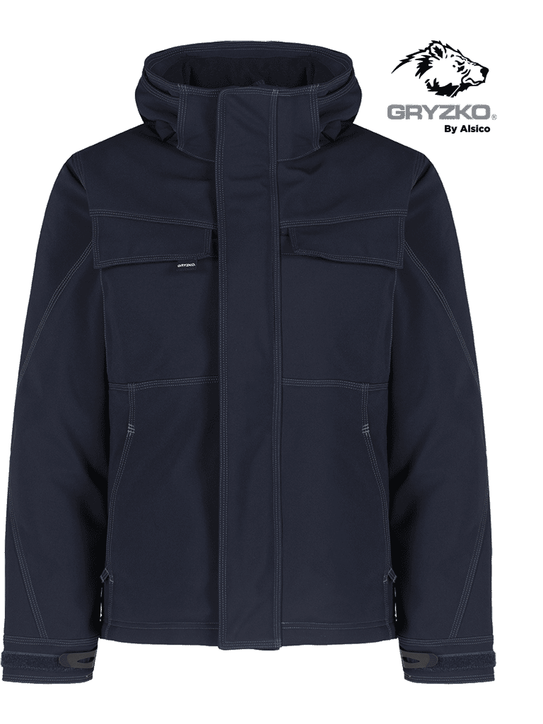 Picture of Gryzko® Quilted Softshell - Blue Shadow