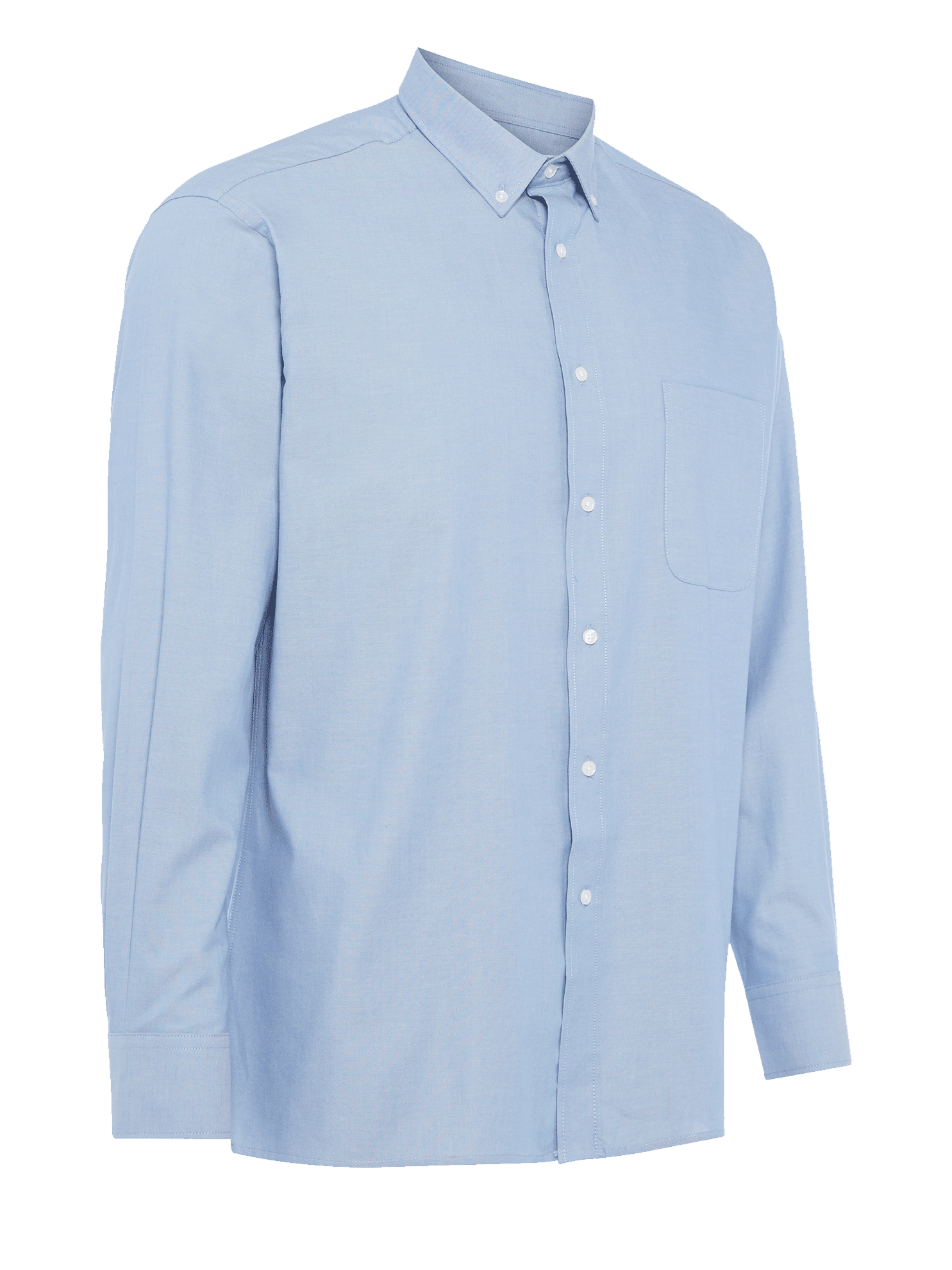 Picture of Long Sleeve Oxford Shirt - Light Blue