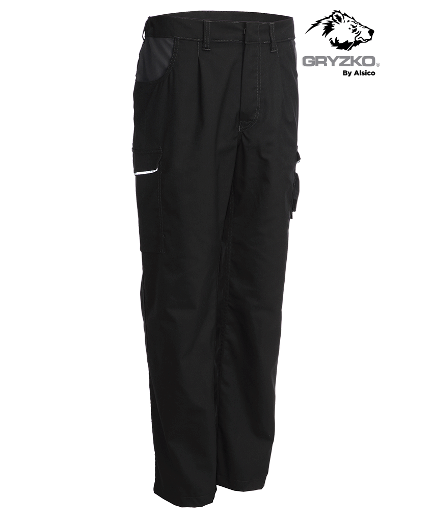 Picture of Gryzko® Classic Trouser Black/Charcoal