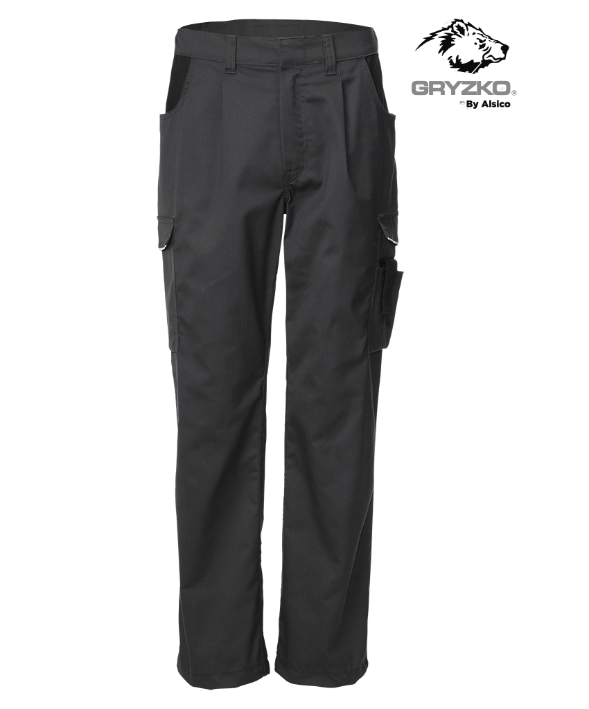 Picture of Gryzko® Classic Trouser Charcoal/Black