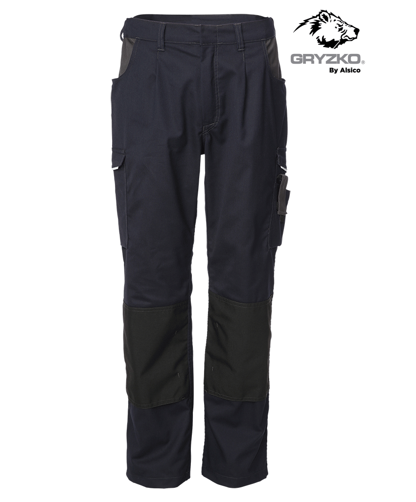 Gryzko Navy Trouser