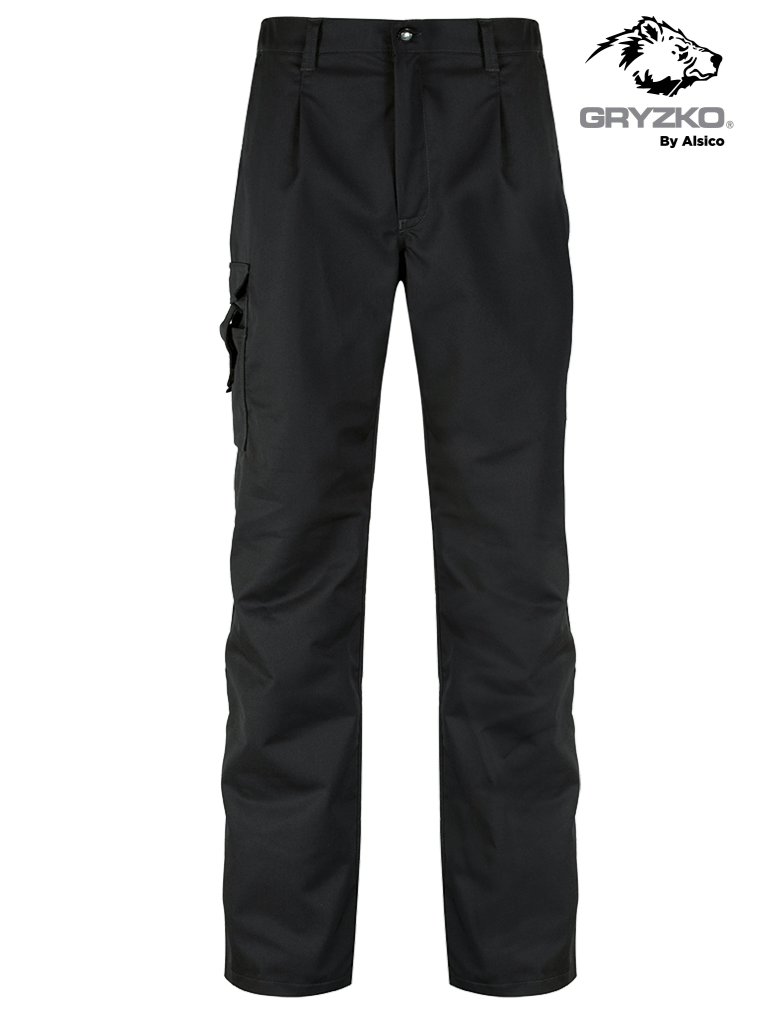 Picture of Gryzko® Cargo Stretch Trouser - Black