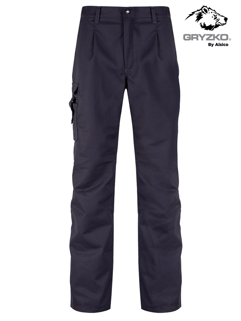 Picture of Gryzko® Cargo Stretch Trouser - Blue Shadow