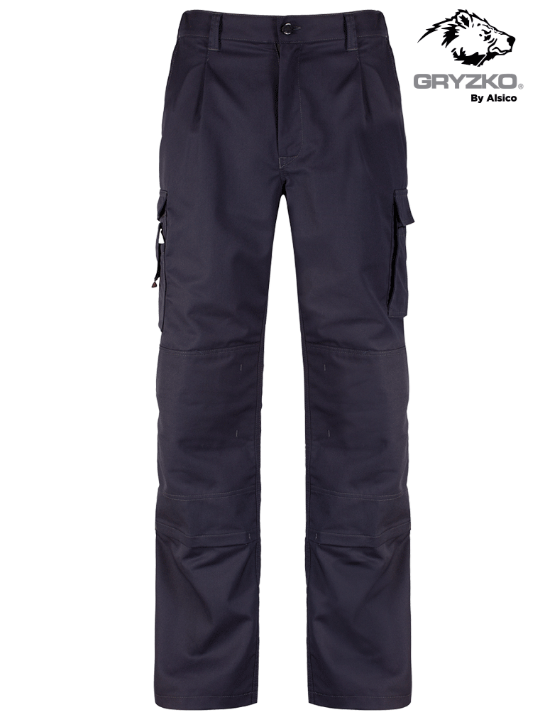 Picture of Gryzko® Cargo Trouser with Knee Pocket - Blue Shadow