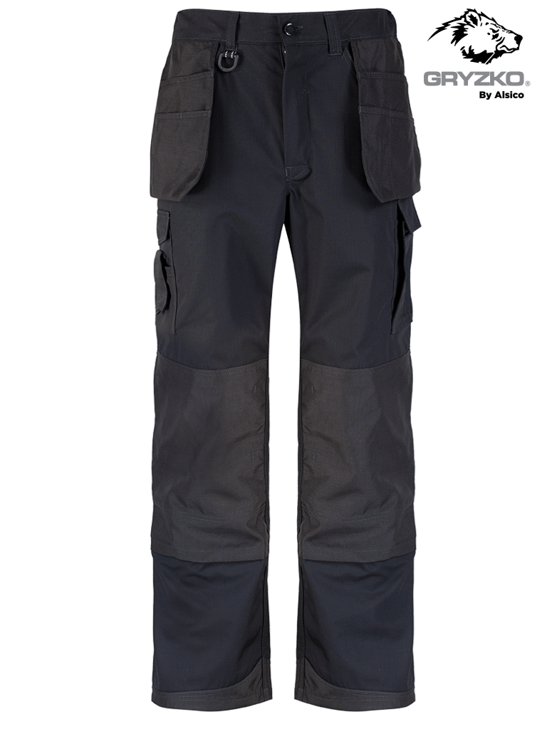 Picture of Gryzko® Ripstop Trade Trouser  - Black