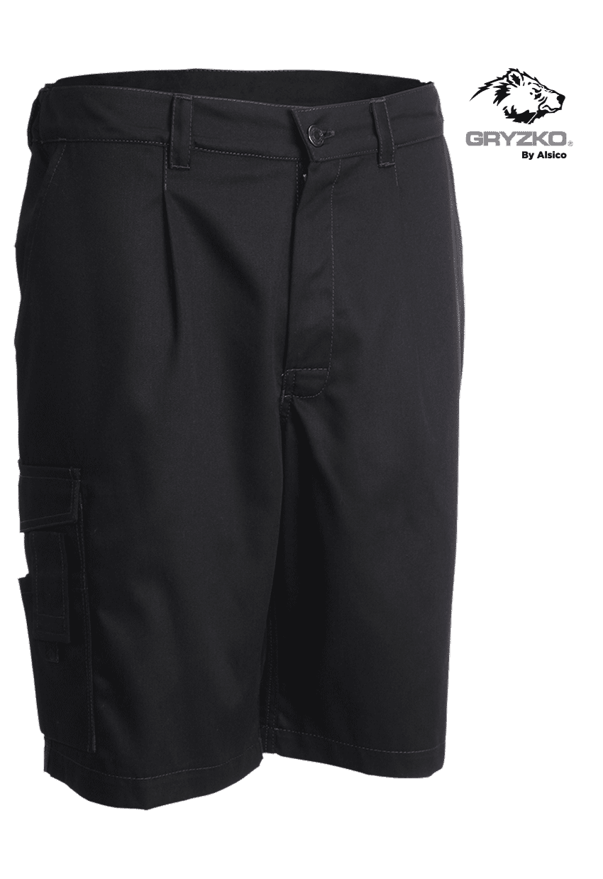 Picture of Gryzko® Cargo Shorts Black