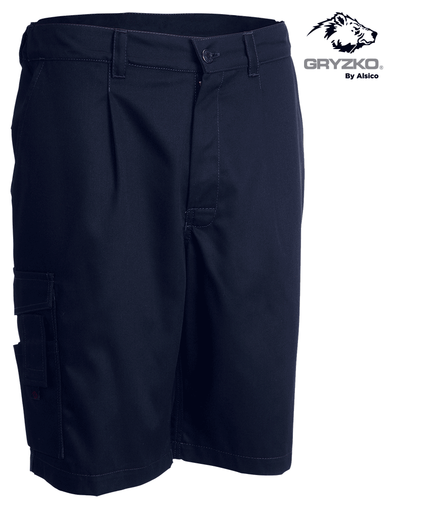 Picture of Gryzko® Cargo Shorts Blue Shadow Navy
