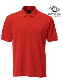 Picture of Gryzko® Performance Button Polo
