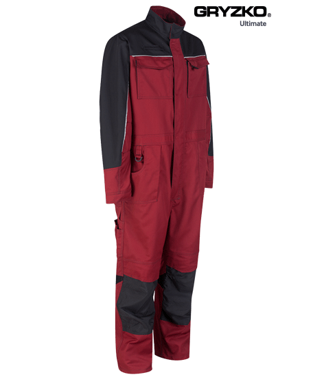 Picture of Ultimate Gryzko® Coverall - Fire Engine Red / Black