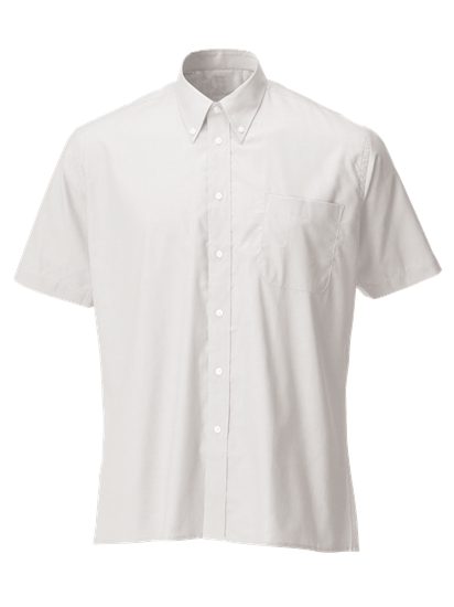Picture of Short Sleeve Oxford Shirt - White