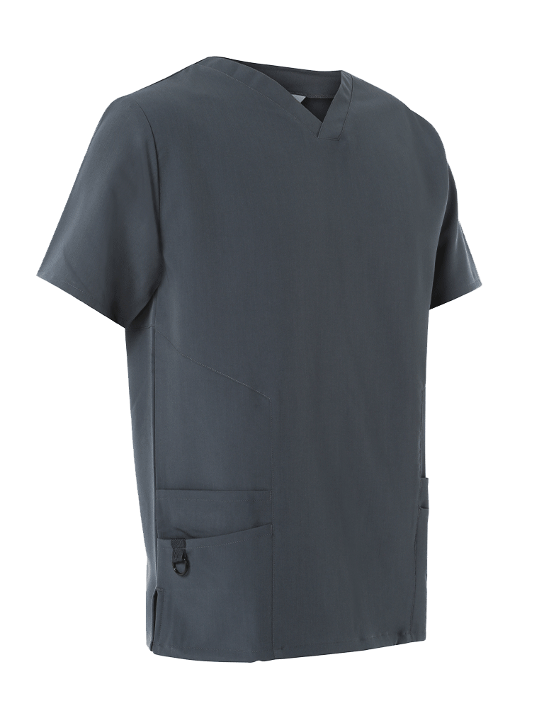 Picture of 4-Way Stretch Male Scrub Tunic - Slate Grey