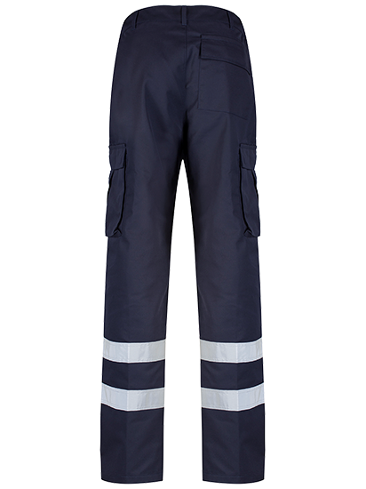 Protective Cargo Trouser Blue Shadow Navy Rear