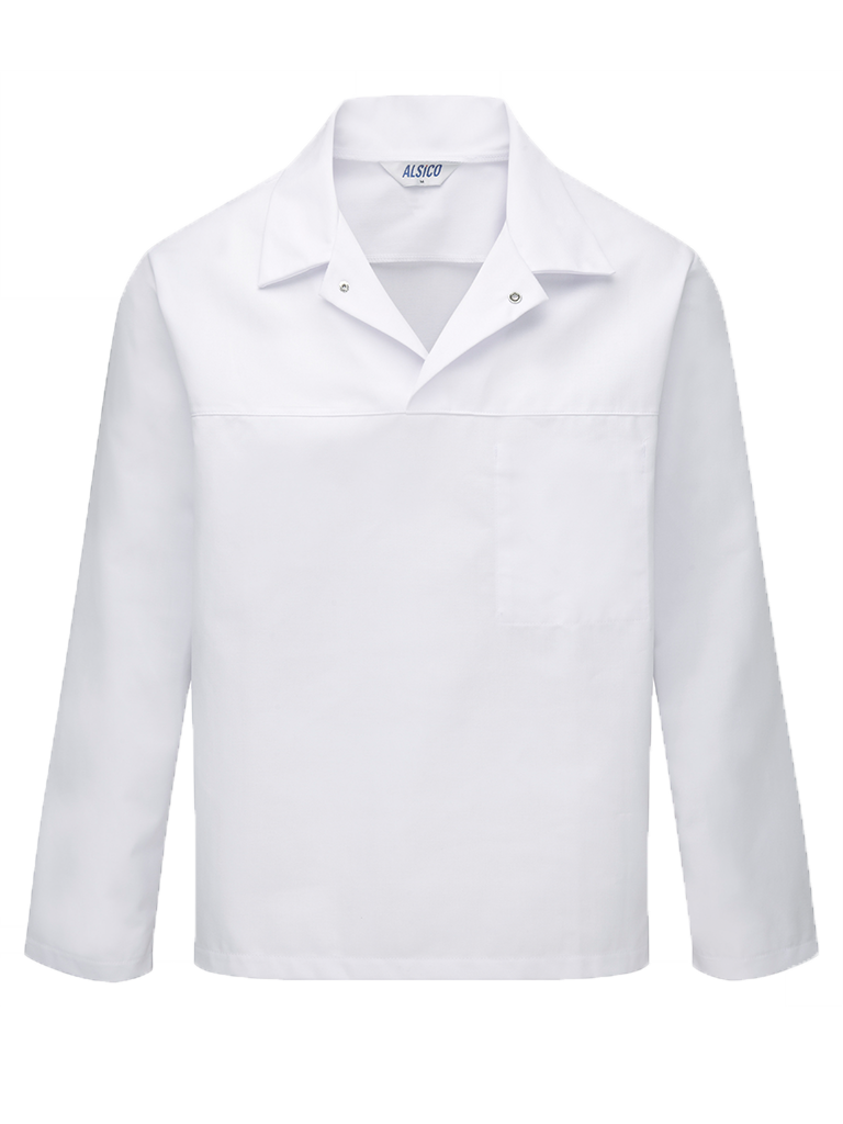 Picture of Long Sleeved Top (245gsm) - Super White