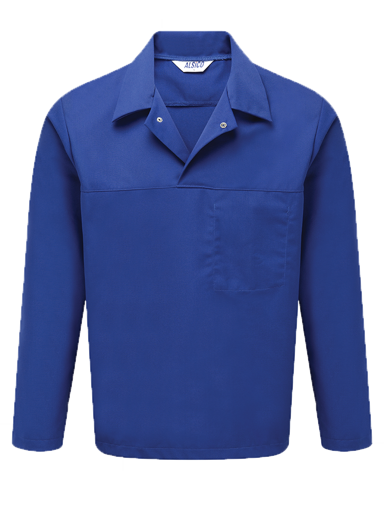 Picture of Long Sleeved Top (245gsm) - Royal Blue