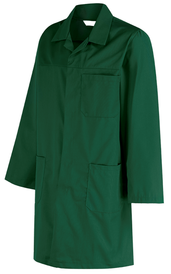 industrial coat - bottle green