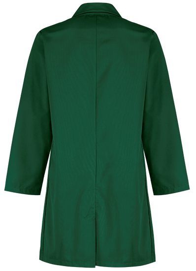 back bottle green alsi coat