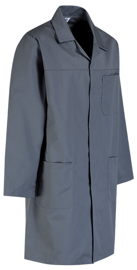 grey lab coat