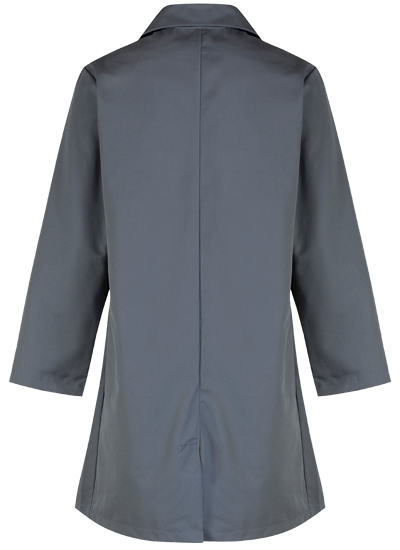 grey back lab coat