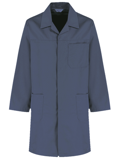 postman blue alsi coat