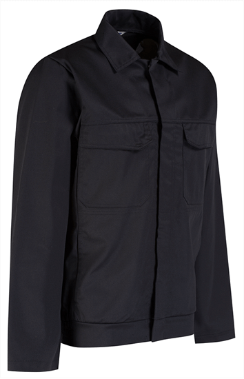 alsico workwear jacket back side