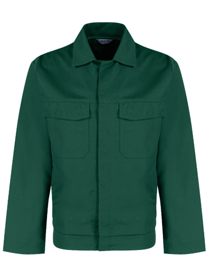 alsi stud jacket in bottle green