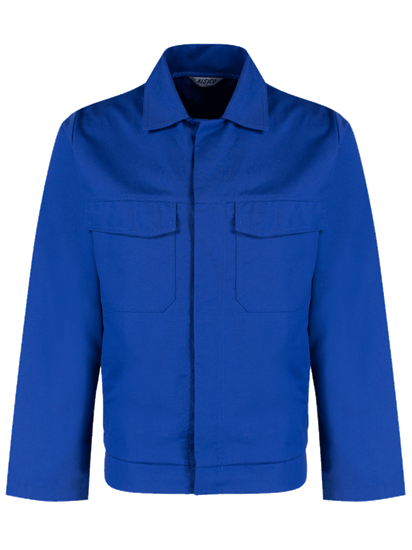 royal blue alsi stud jacket