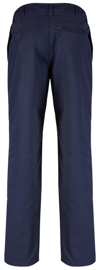 back blue shadow trousers