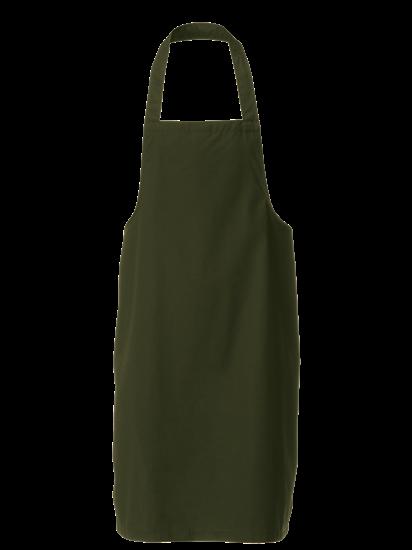racing green bib apron
