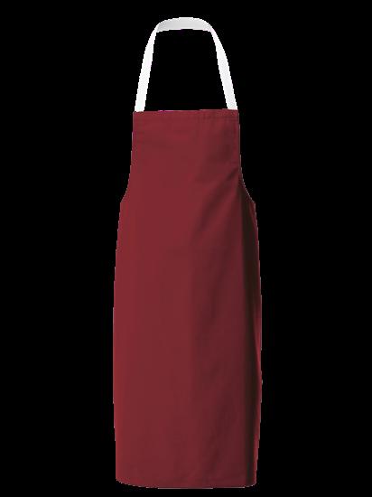 smokeberry white halterneck apron