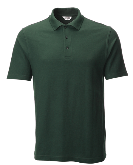 classic polo shirt bottle green