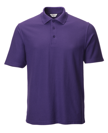 classic polo shirt purple