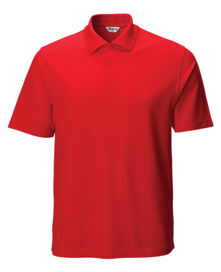 classic polo shirt red