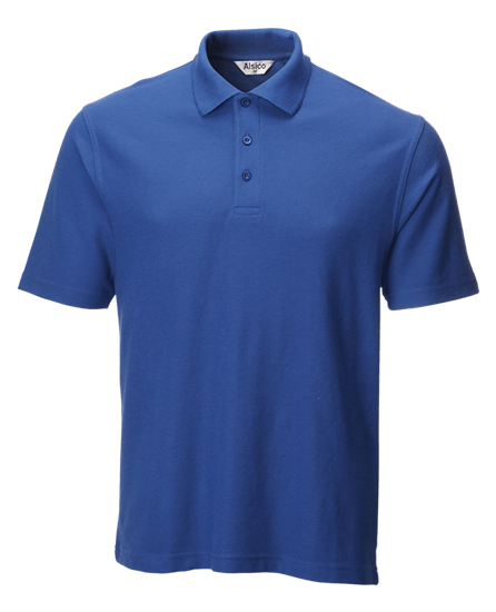 classic polo shirt royal blue