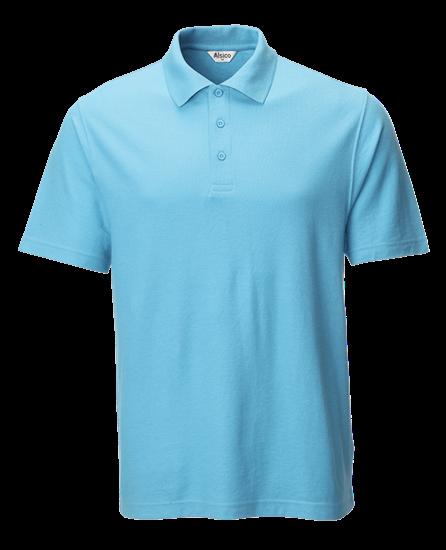 classic polo shirt sky blue