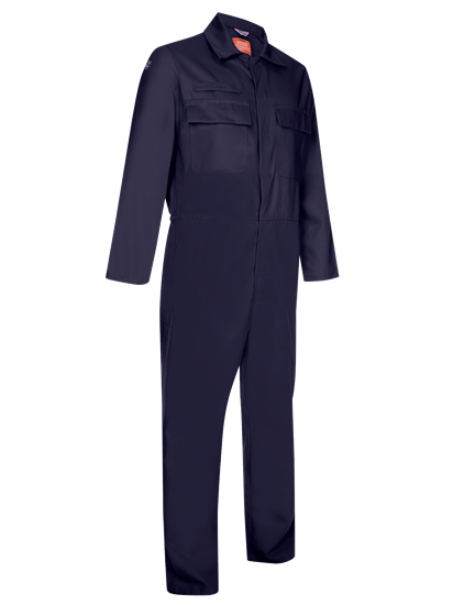 coverall made from phoenix in navy